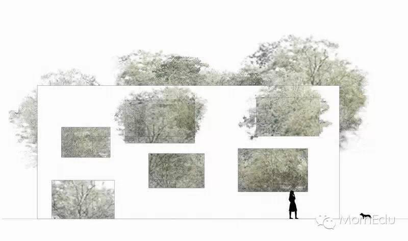 每日一图,说建筑空间和设计表达