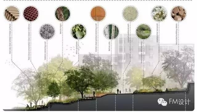 【FM设计】高大上的景观分析图制作方法