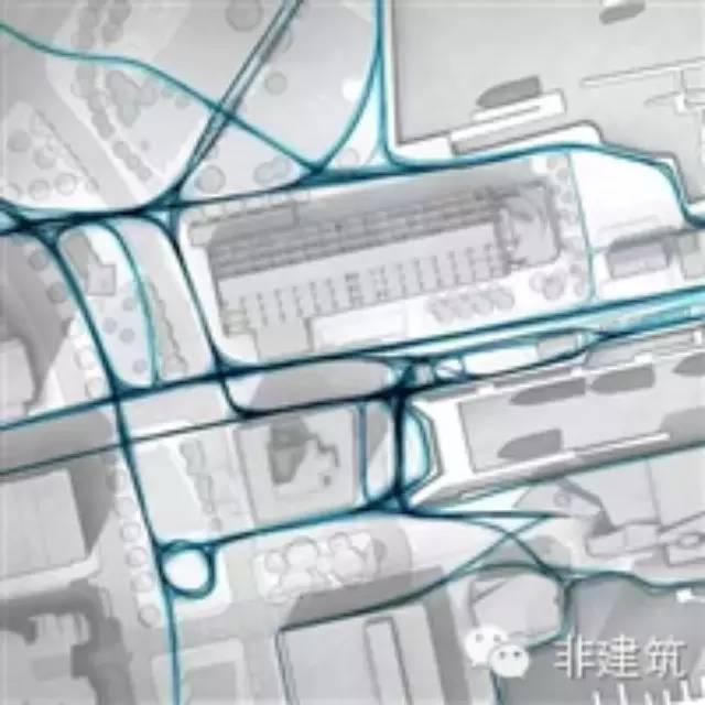 利用Photoshop画交通流线分析图